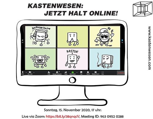 Jetzt halt online - klein